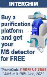 puriFlash MS   Buy a purification platform and Get your MS detector for free promoCode : 1179575 & 1179576