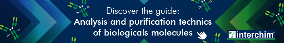 Analysis and purification technics of biologicals molecules