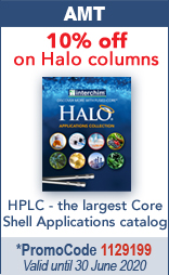 10% off on analytical HPLC AMT Halo columns