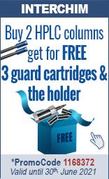 Buy 2 HPLC columns, get for free 3 guard cartridges & the holder PromoCode 1168372
