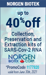 Saliva RNA Collection & Preservation Devices and RNA Purification Kits promoCode: 1177920