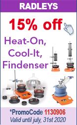 15% off on Heat-On blocks, on Cool-It, on Findenser